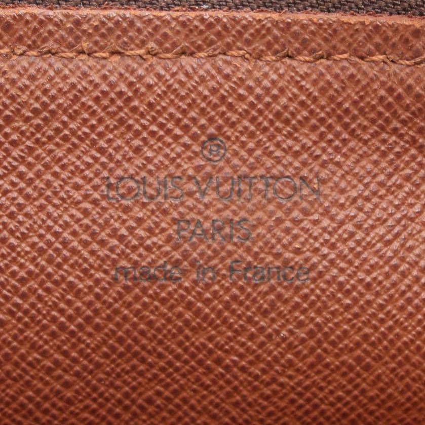 LOUIS VUITTON・バッグ・パピヨン30 モノグラム ハンドバッグ PVC レザー 茶色