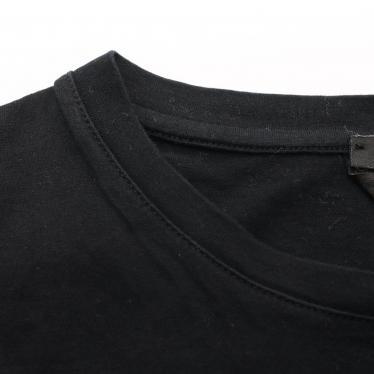 FENDI・トップス・EYES BUGS Tシャツ カットソー プリント 黒 マルチカラー