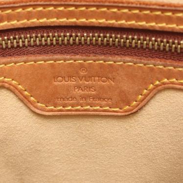 LOUIS VUITTON・バッグ・ルーピングGM モノグラム ショルダーバッグ PVC レザー 茶色