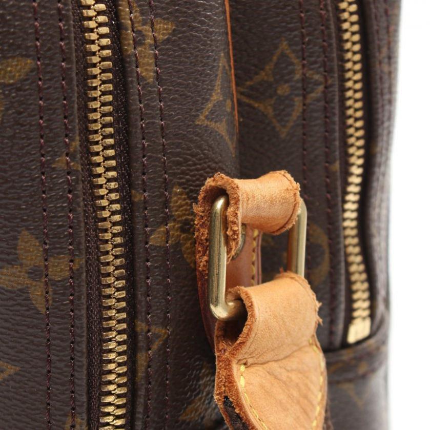 LOUIS VUITTON・バッグ・リポーターGM モノグラム ショルダーバッグ PVC レザー 茶色