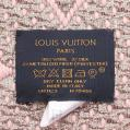 LOUIS VUITTON・財布・小物・エシャルプ ロゴマニア シャイン マフラー 刺繍 ウール ローズバレリーヌ