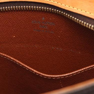 LOUIS VUITTON・バッグ・ドルーオ モノグラム ショルダーバッグ PVC レザー 茶色