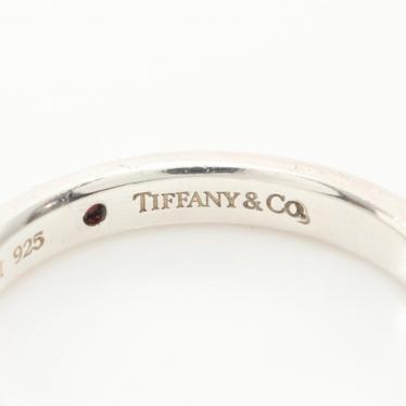 TIFFANY & Co.・アクセサリー・スタッキング バンドリング エルサペレッティ 指輪 SV925 ルビー シルバー