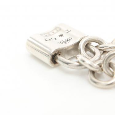 TIFFANY & Co.・アクセサリー・1837 チェーンブレスレット SV925 シルバー パドロックモチーフ