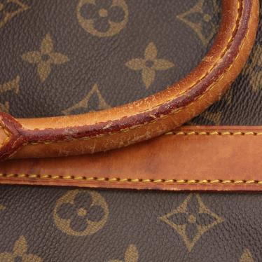 LOUIS VUITTON・バッグ・キーポル45 モノグラム ボストンバッグ PVC レザー 茶色