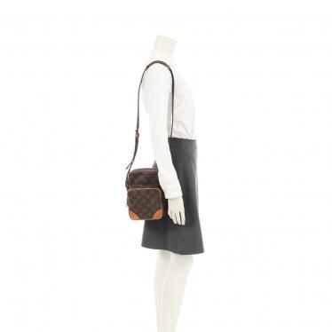 LOUIS VUITTON・バッグ・アマゾン モノグラム ショルダーバッグ PVC レザー 茶色