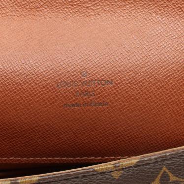LOUIS VUITTON・バッグ・ミュゼットサルサ ショートストラップ モノグラム ショルダーバッグ PVC レザー 茶色