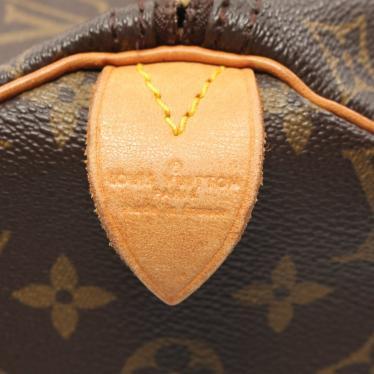 LOUIS VUITTON・バッグ・スピーディ40 モノグラム ハンドバッグ PVC レザー 茶色