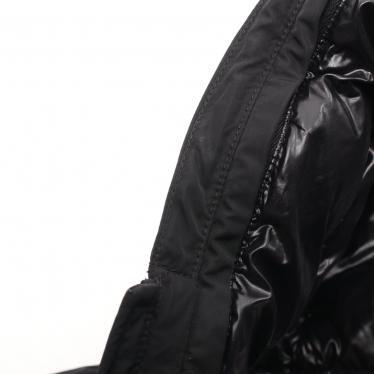 MONCLER・アウター・MONTVERNIER ダウンコート 黒 フード付き キッズ