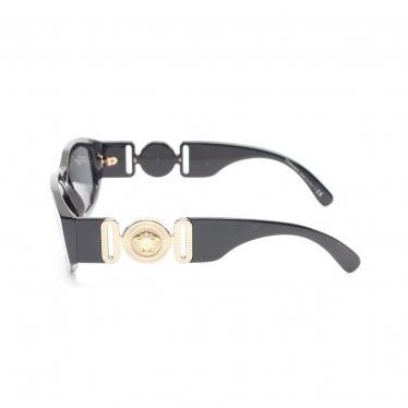 Versace・財布・小物・メデューサ サングラス 黒 ゴールド UVカット