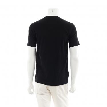 COMME des GARCONS SHIRT・トップス・ Tシャツ カットソー 半袖 黒 パッチワーク
