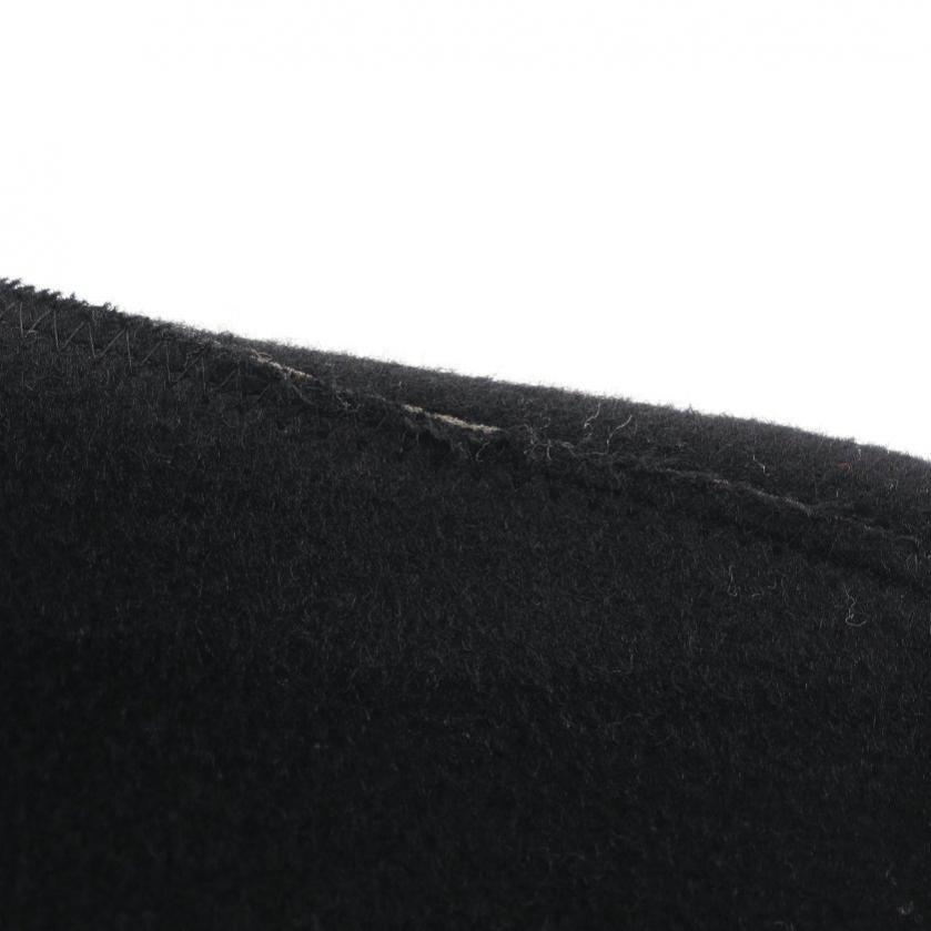 JUNYA WATANABE COMME des GARCONS MAN・アウター・ウールビーバーボンディング コート ウール カシミヤ 黒