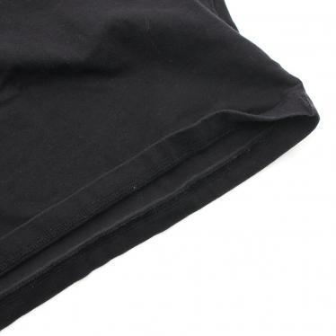 Yohji Yamamoto・トップス・Yohji Yamamoto POUR HOMME × New Era S/S Cotton Tee Tシャツ カットソー 半袖 黒