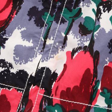 MARNI・トップス・チュニック トップス チューリップ柄 赤 グレーパープル 白