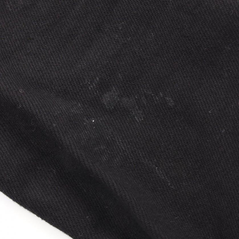 DIESEL・アウター・D-HILL デニムジャケット 黒 ダメージ加工 バックロゴ