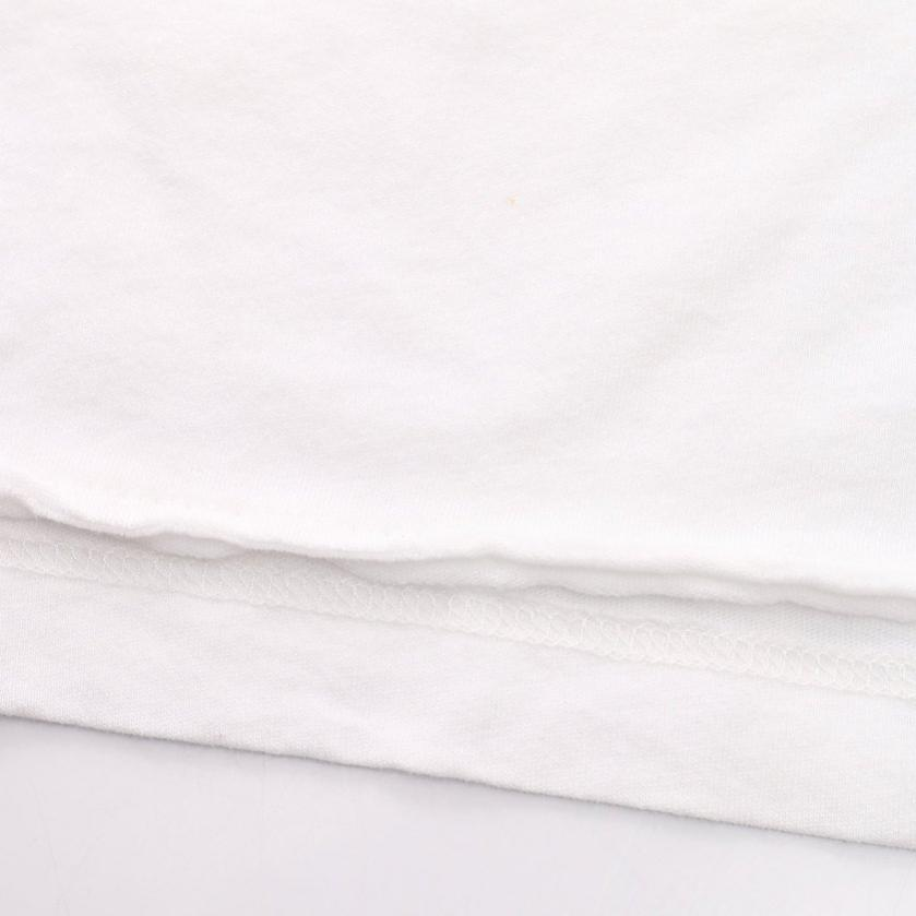 SAINT LAURENT PARIS・トップス・Tシャツ カットソー 白 マルチカラー スモーキングリップ