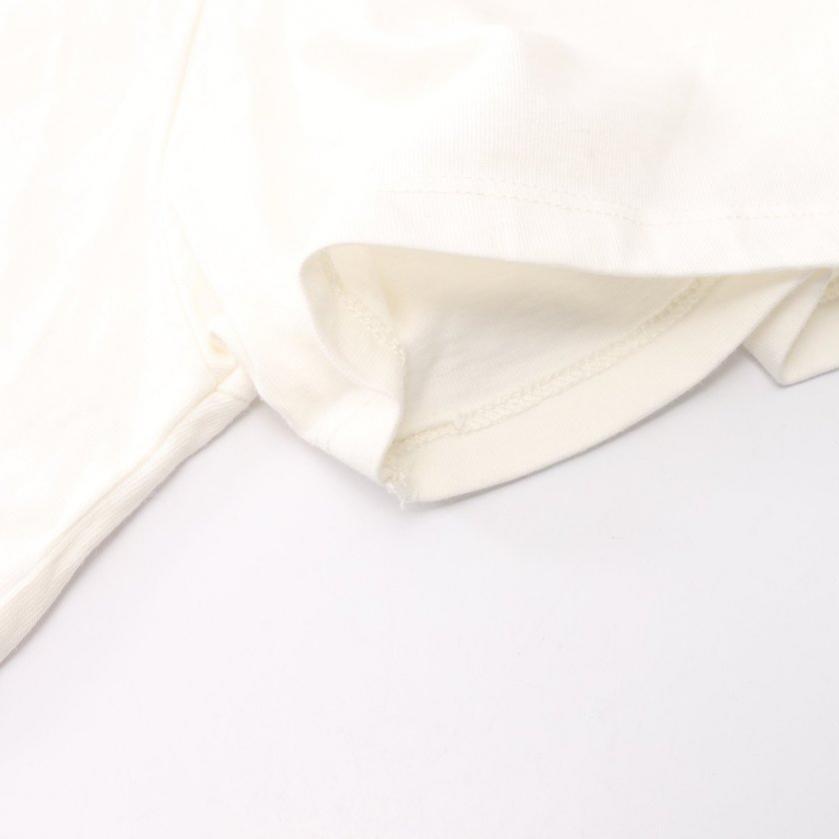 MAISON KITSUNE・トップス・FOX HEAD フォックスヘッド Tシャツ カットソー オフホワイト