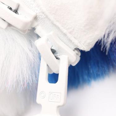 OFF-WHITE・アウター・FAKE FUR ZIP ANORAK ファージャケット フェイクファー 白 青 ピンク 19AW