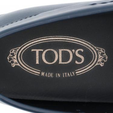 TOD'S・シューズ・DOPPIA T FINE CITY ドライビングシューズ レザー ネイビー