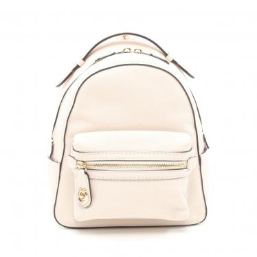 COACH・バッグ・Campus Backpack ミニリュック バックパック レザー アイボリー