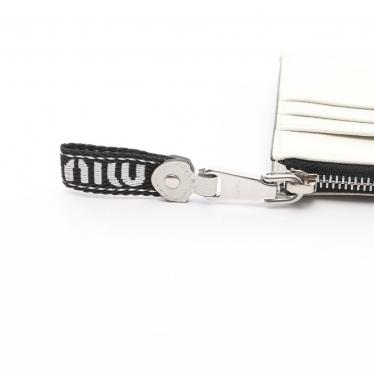 miu miu・財布・小物・マドラス コインケース カードケース レザー ホワイト