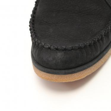 UGG australia・シューズ・CALEB ショートブーツ ヌバック ブラック フリンジ