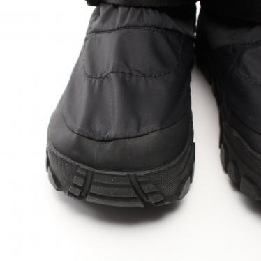 Danner・シューズ・Danner × NANGA FREDDO OVER BOOTS フレッド オーバーブーツ ショートブーツ 撥水ナイロン ダウン 黒 ベルクロ ウォータープルーフ
