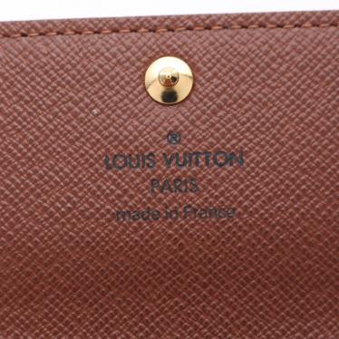 LOUIS VUITTON・財布・小物・ミュルティクレ6 モノグラム キーケース PVC ブラウン 6連