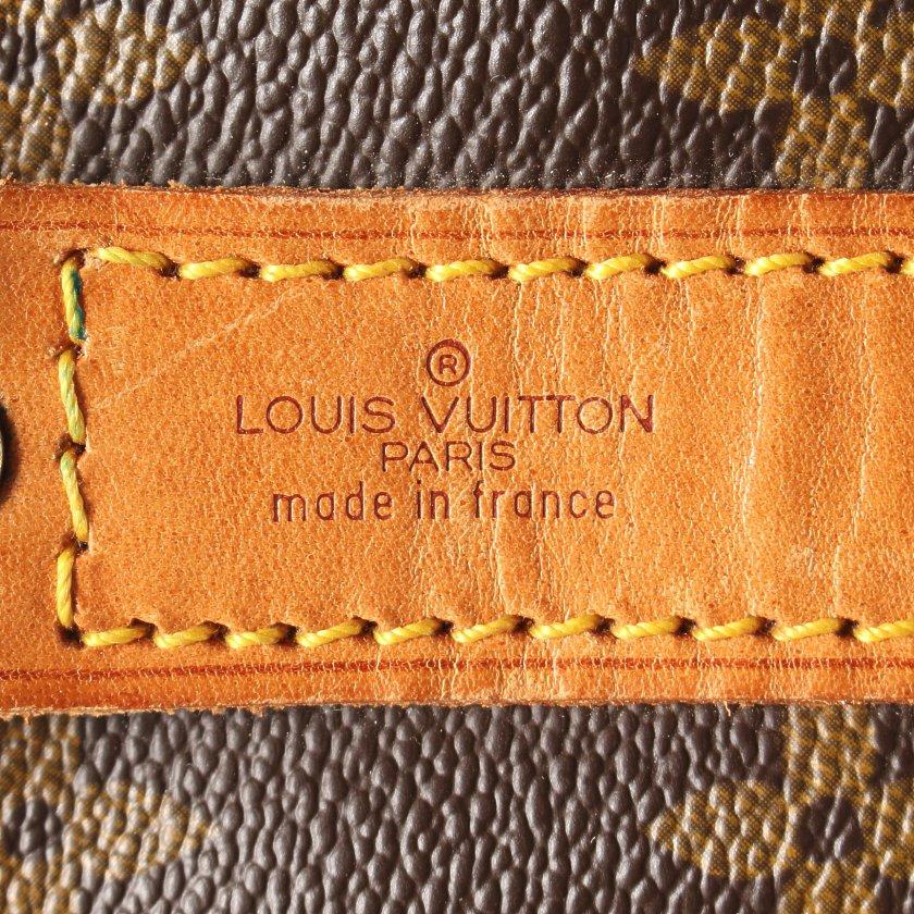 LOUIS VUITTON・バッグ・キーポル バンドリエール45 モノグラム ボストンバッグ PVC レザー ブラウン
