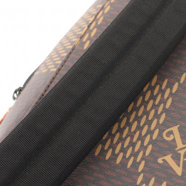 LOUIS VUITTON・バッグ・LOUIS VUITTON × NIGO キャンパス バックパック LVスクエアード ダミエエベヌジャイアント モノグラム リュックサック PVC レザー ブラウン