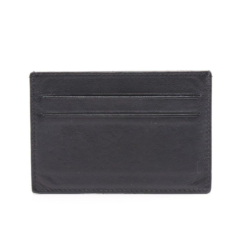 HERMES・財布・小物・シチズン ツイル カードケース パスケース ヴォースイフト ブラック □P刻印