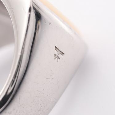 TOMWOOD・アクセサリー・Cushion Ring クッション リング 指輪 SV925 マザーオブパール シルバー ホワイト