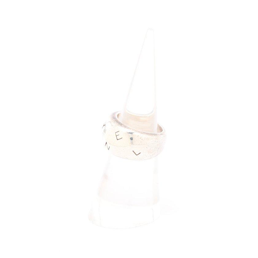 CHANEL・アクセサリー・リング 指輪 SV925 シルバー ドーム ロゴ
