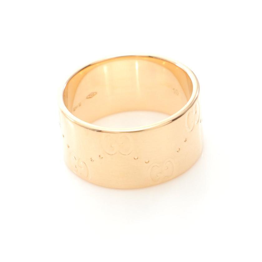 GUCCI・アクセサリー・アイコン ワイド リング 指輪 K18YG イエローゴールド