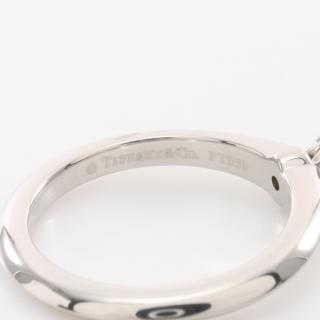 TIFFANY & Co.・アクセサリー・ソリテール リング 指輪 Pt950 ダイヤモンド プラチナ 1Pダイヤ