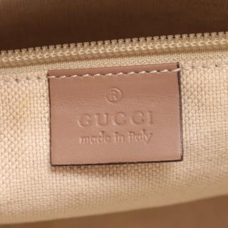 GUCCI・バッグ・GGスプリーム トートバッグ PVC レザー ベージュ 2WAY