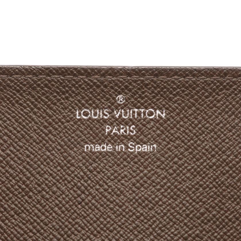 LOUIS VUITTON・財布・小物・アンヴェロップ カルト ドゥ ヴィジット タイガ グリズリ カードケース レザー ブラウン