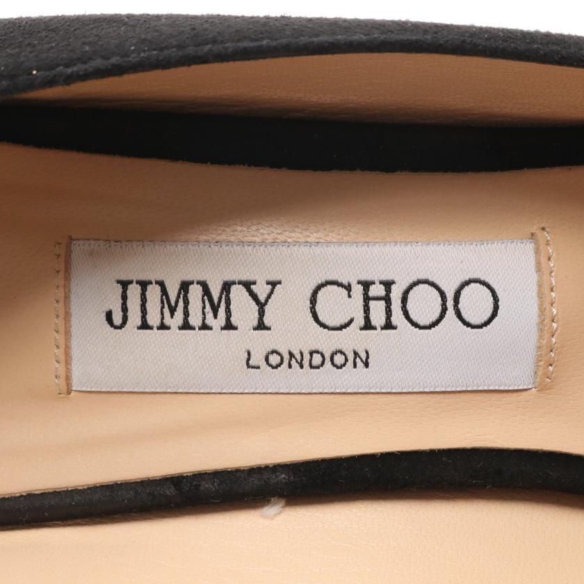 JIMMY CHOO・シューズ・ROMY 85 パンプス スエード ブラック
