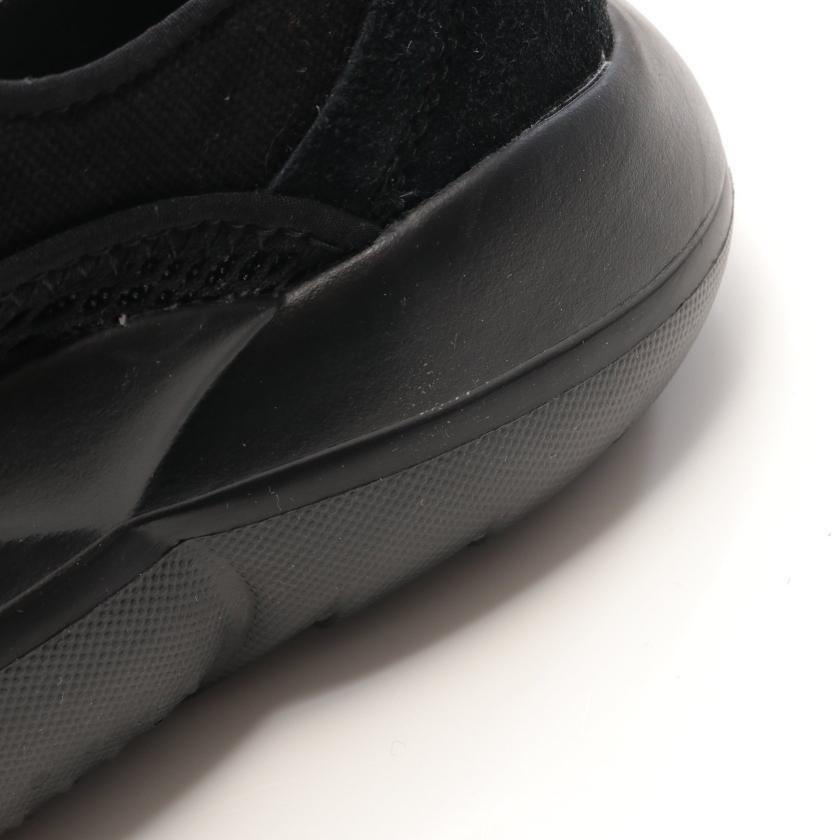 UGG australia・シューズ・LA CLOUD LOW クラウド ロー スニーカー キャンバス スエード ブラック ローカット