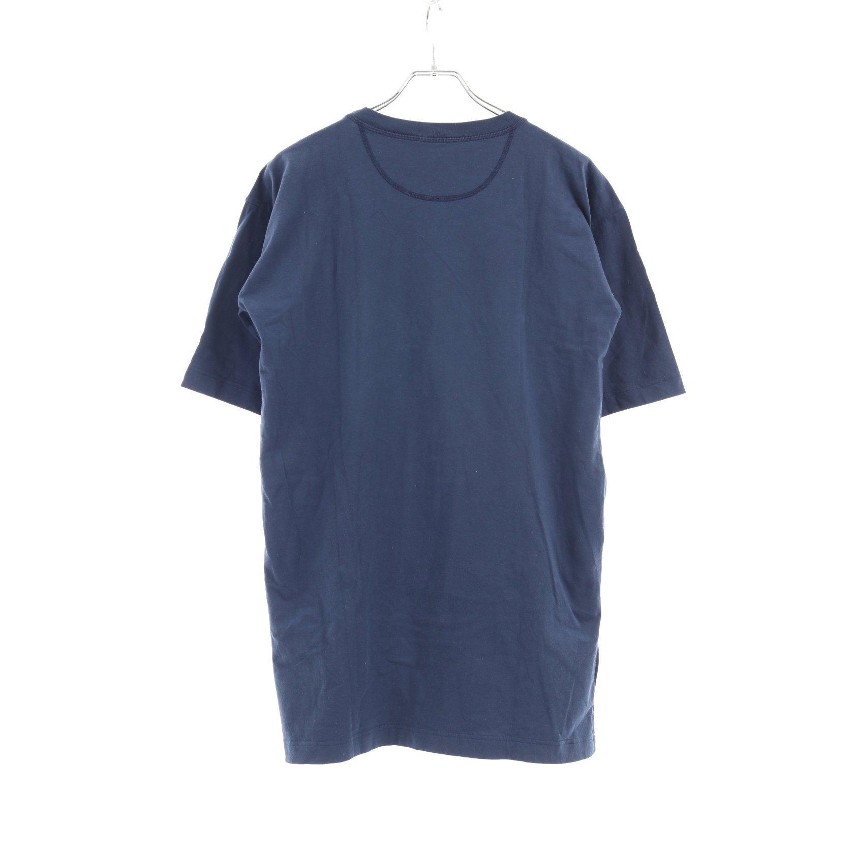 FENDI・トップス・FENDI × FILA フェンディマニア Tシャツ ネイビー マルチカラー