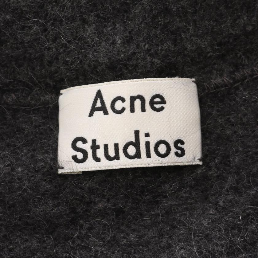 Acne Studios・トップス・RAYA MOHAIR ロング カーディガン モヘヤ ウール グレー