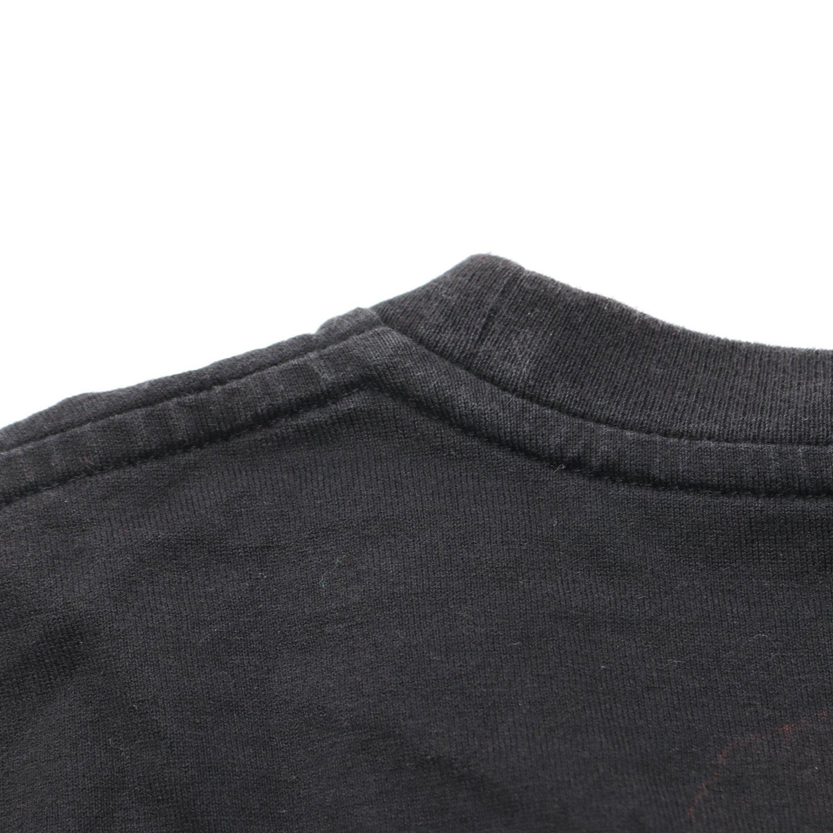 SAINT LAURENT PARIS・トップス・ Tシャツ ブラック ロゴ プリント