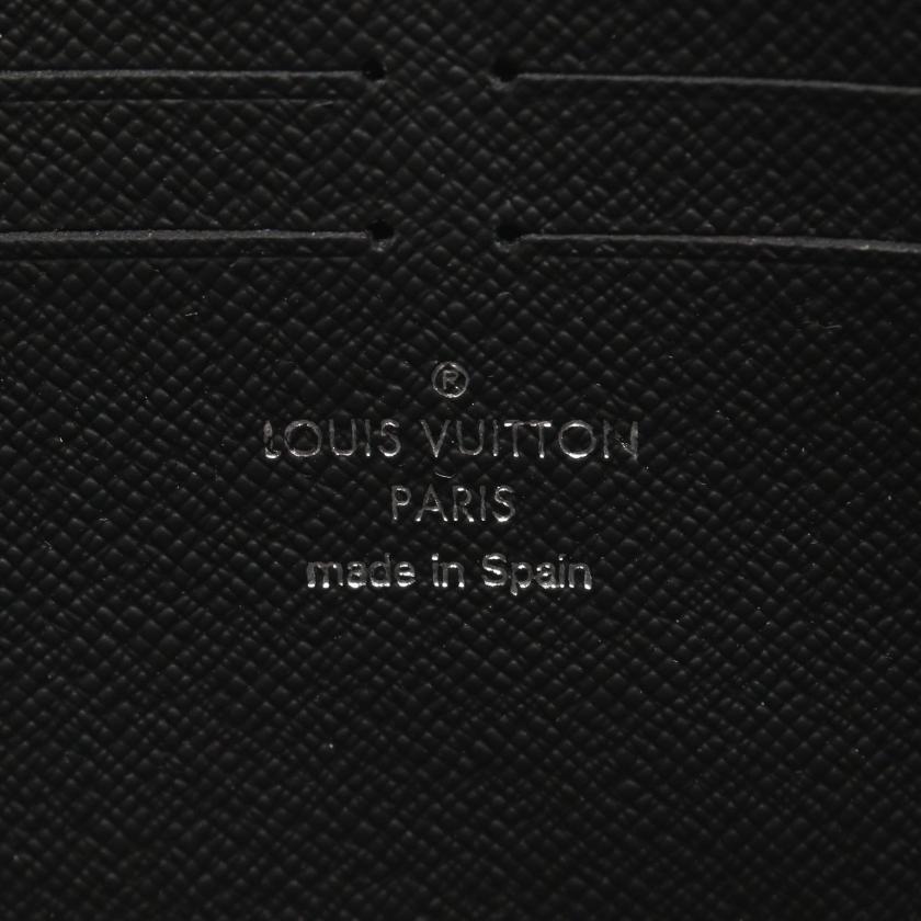 LOUIS VUITTON・財布・小物・ジッピー ドラゴンヌ モノグラムマカサー L字ファスナー長財布 PVC レザー ブラウン ブラック