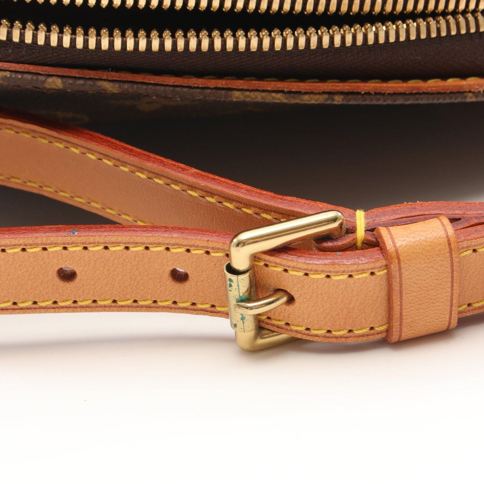 LOUIS VUITTON・バッグ・エリプス サックアド モノグラム  バックパック PVC レザー ブラウン