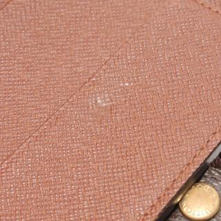 LOUIS VUITTON・財布・小物・コンパクトジップ モノグラム 二つ折り財布 PVC ブラウン