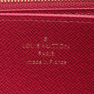 LOUIS VUITTON・財布・小物・ジッピーウォレット モノグラム フューシャ ラウンドファスナー長財布 PVC ブラウン