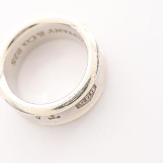 TIFFANY & Co.・アクセサリー・1837 ナロー リング 指輪 SV925 シルバー
