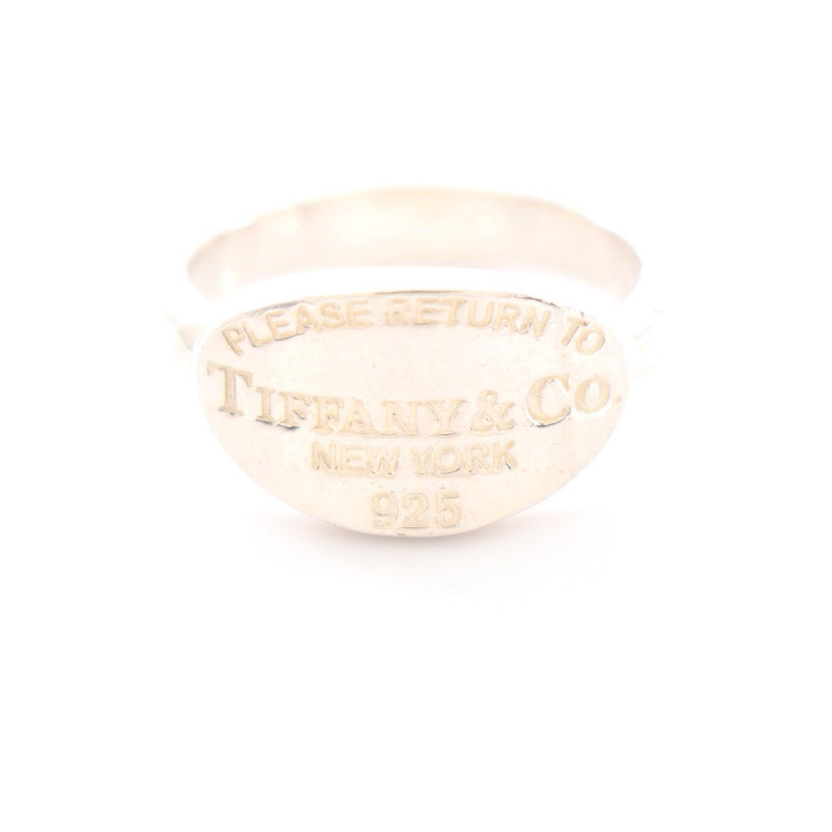 TIFFANY & Co.・アクセサリー・リターントゥティファニー オーバル リング 指輪 SV925 シルバー