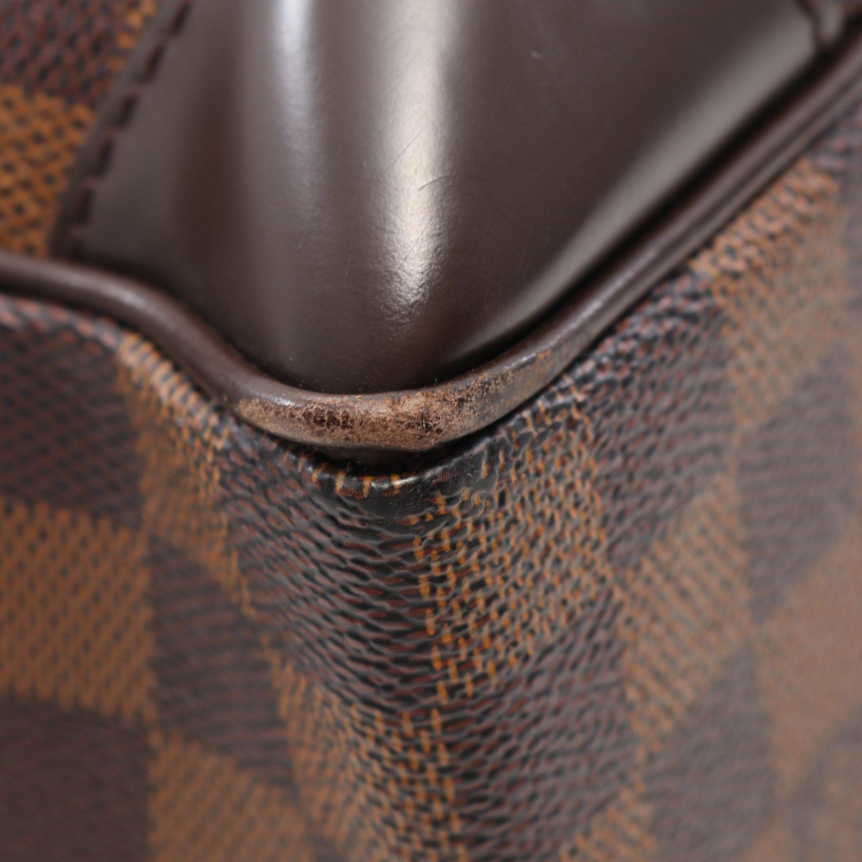 LOUIS VUITTON・バッグ・ポルトドキュマン ヴォワヤージュGM ダミエエベヌ ビジネスバッグ ブリーフケース PVC レザー ブラウン 2WAY