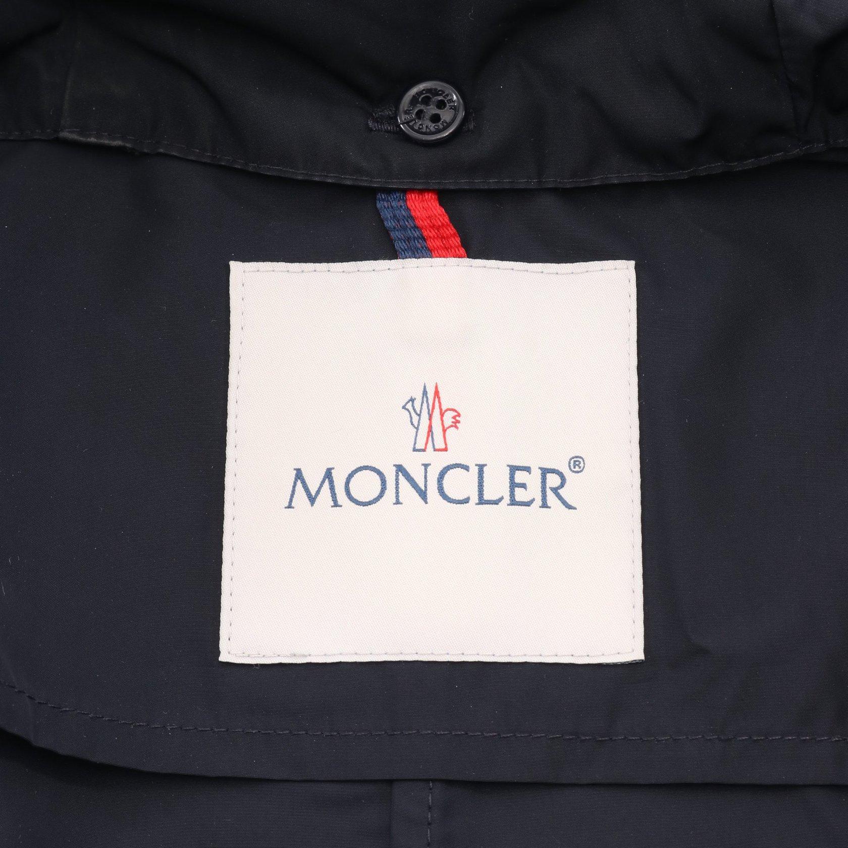 MONCLER・アウター・ARGELINE アルジェリーヌ コート ネイビー